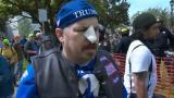 Trumpin vastustajat ja kannattajat tappelivat Berkeleyssä