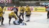 Vaarallinen tilanne Kuopiossa: kova lämäri suoraan kasvoihin – jäähalli hiljeni täysin
