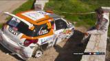 WRC2 -luokassa värikäs viikonloppu - Suniselle tärkeä onnistuminen asvaltilla!