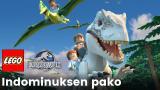Uusi Lego-ohjelma! Hodareita rakastava dinosaurus aiheuttaa kaaoksen ja pakenee häkistään. Pystyykö dinokouluttaja pelastamaan tilanteen?