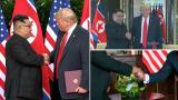 """Presidenttien kättelykimara – ammattilainen näkee alfaväännön, jossa """"Kim on kuin lapsi"""""""