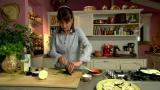 Kasvissyöjän pikaherkku: Grillatut munakoisokiekot