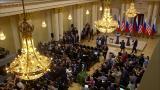 Toimittaja poistettiin presidenttien tiedotustilaisuudesta