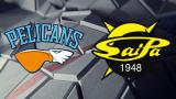 Pelicans - SaiPa 15.3.