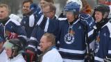 Presidentti Niinistö näytti kiekkokikkojaan Kalliossa