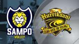 Mestaruusliiga LIVE: Sampo Volley - Hurrikaani, 1. välierä