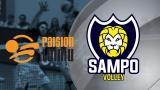 Raision Loimu - Sampo Volley, 2. puolivälierä 16.3.