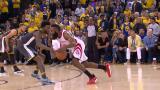 Game 4: Hardenin voima vs Curryn tarkkuus - huh, mikä lopetus matsille!