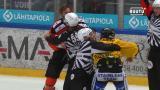 HPK-puolustaja puolusti jälleen joukkuettaan ilman hanskoja – hyökkäsi KalPan pelaajan kimppuun