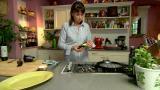 Ihana pikaherkku: Grillatut munakoisokiekot