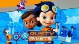 Ryhmä Haun tekijöiden sarjassa Rusty ja Roosa keksivät ratkaisun pulmaan kuin pulmaan teknologian avulla.