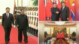 Kättelyä ja klassista musiikkia – tällaisen vastaanoton Kim sai Kiinassa